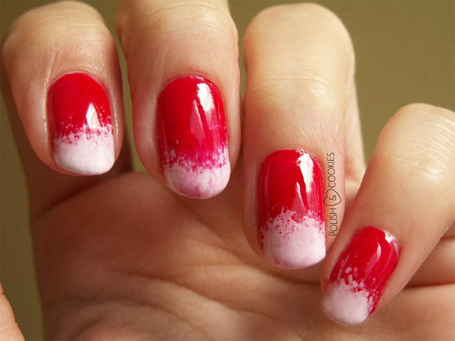 arbuzowe paznokcie