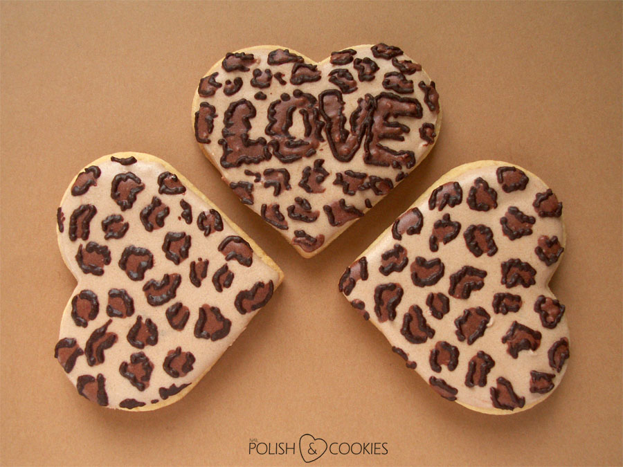 Cheetah Cookies