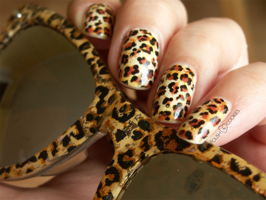 paznokcie panterkowe