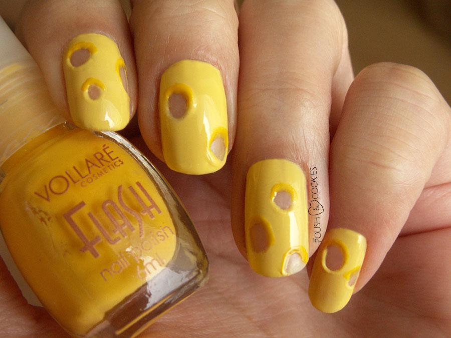 Serowe paznokcie