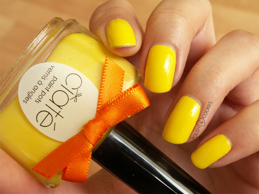 Big Yellow Taxi Nails Ciate Neon