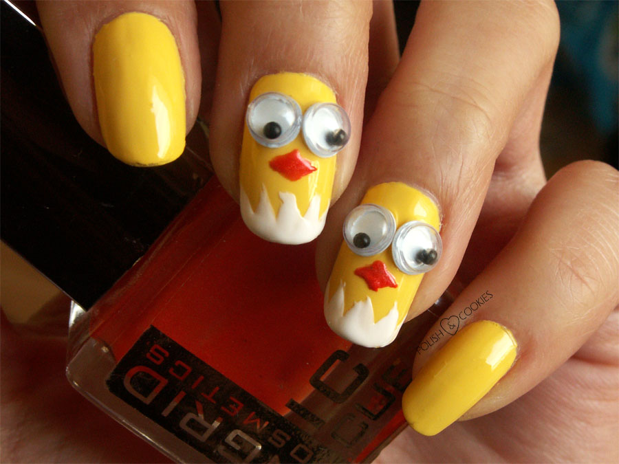 Easter Nails - Chicks
