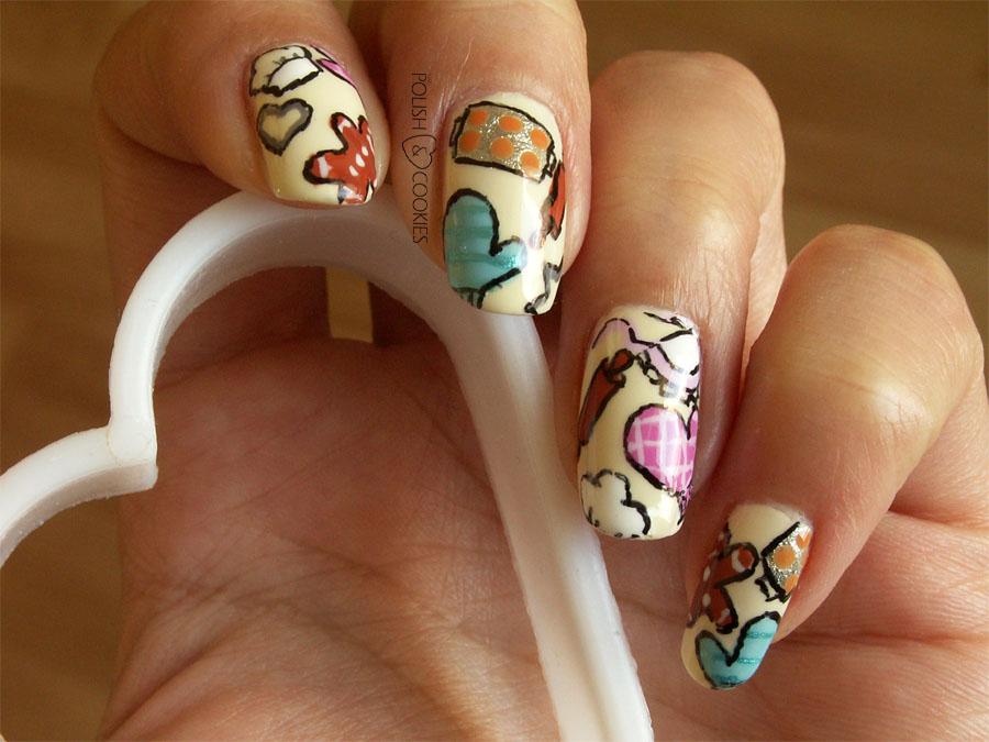 Ciasteczkowe paznokcie