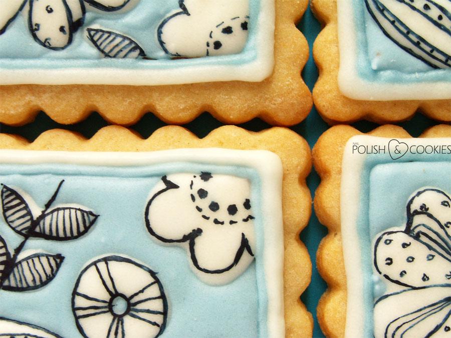 Malowane ciasteczka