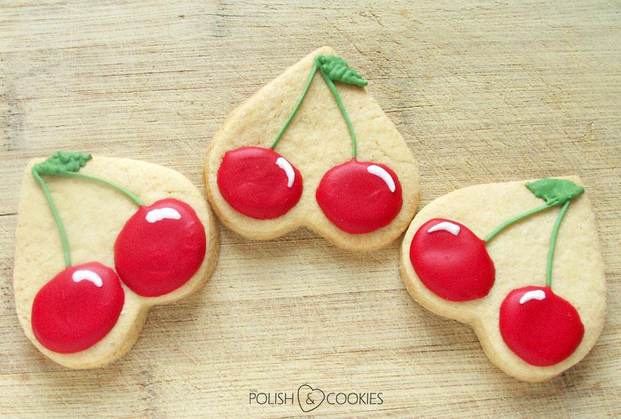 Ciasteczka Wisienki Wiśnie