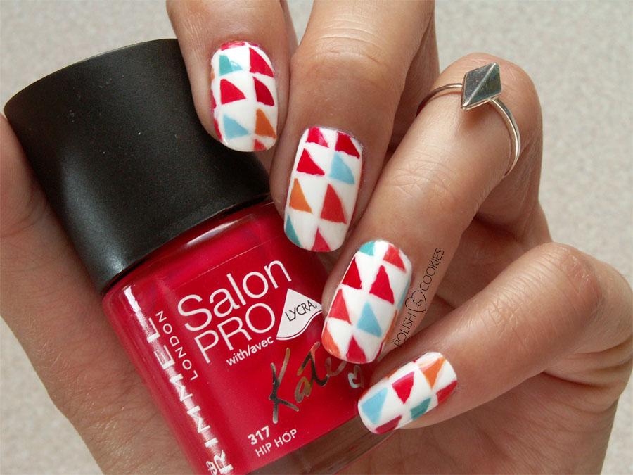 Aztec nails