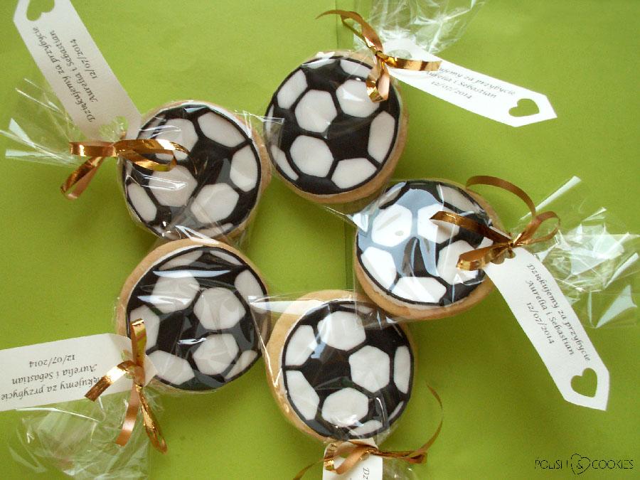 Ciasteczka Piłkarskie Piłki