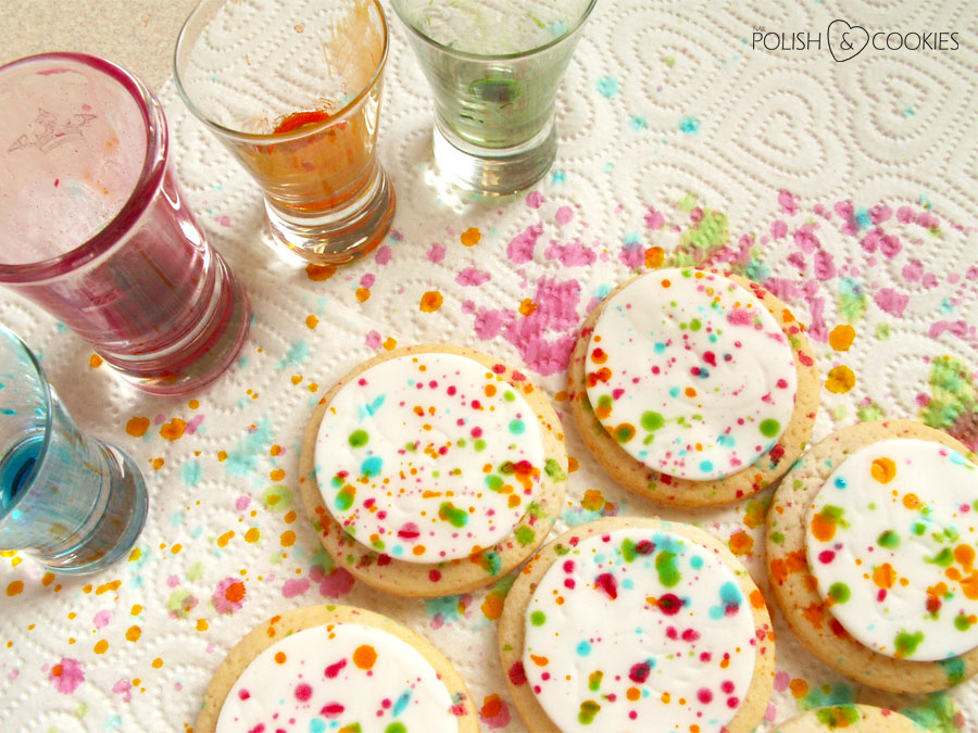 Splatter Cookies
