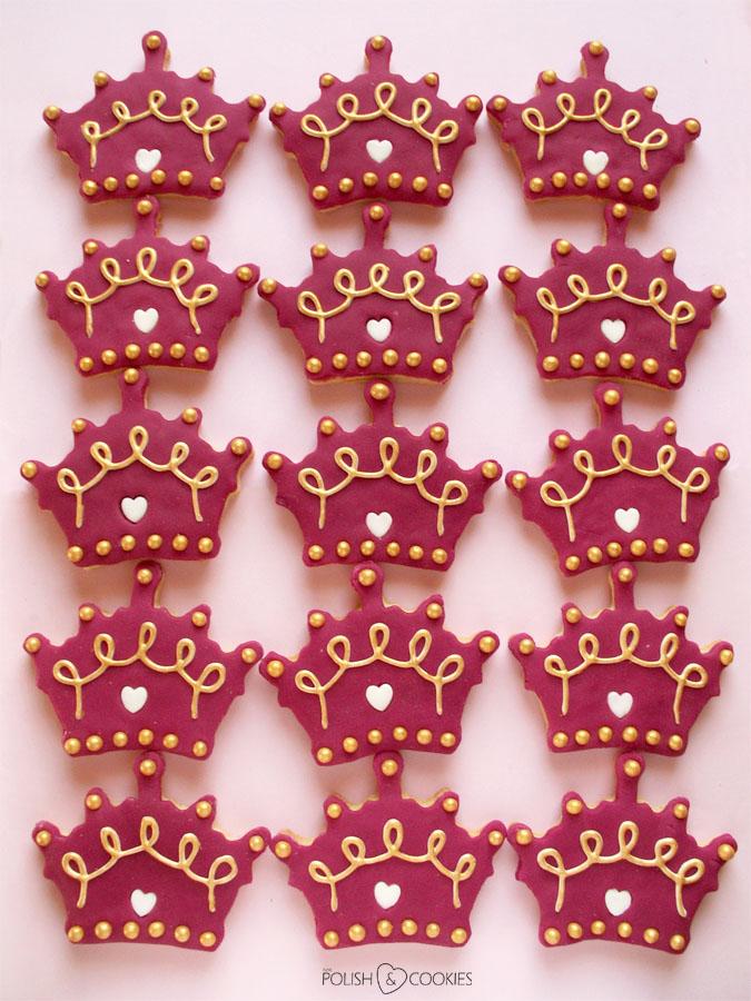 ciasteczka korony