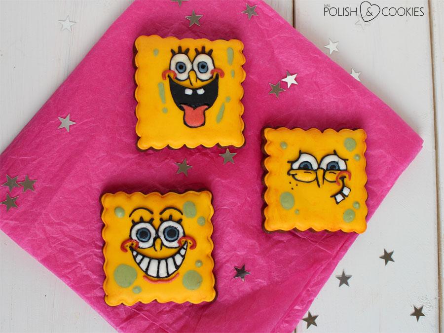 Sponge Bob Cookies Ciasteczka