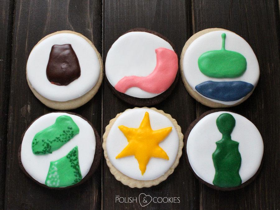 Toy Story Cookies TUTORIAL Ciasteczka