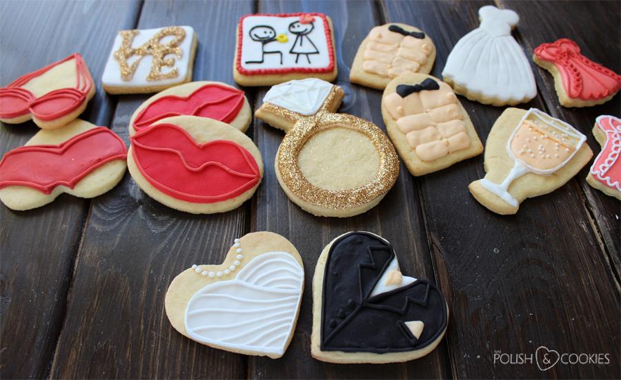 ciasteczka ślubne panieński