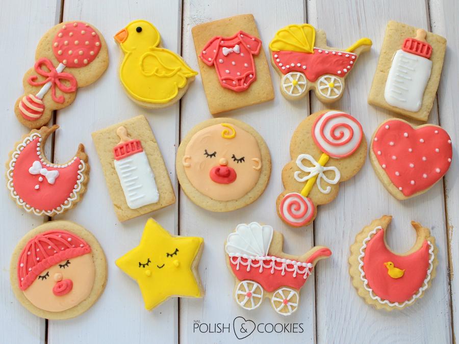 zestaw ciasteczek  dla dziewczynki