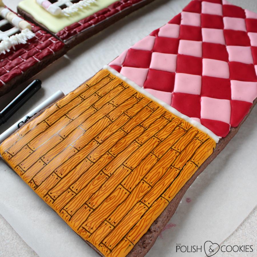 podłoga piernik ciastko mazaki jadalne jak używać