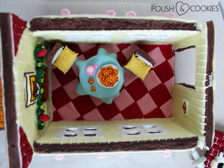 piernikowy domek kuchnia jak zrobić ciasteczka mleko dla mikołaja
