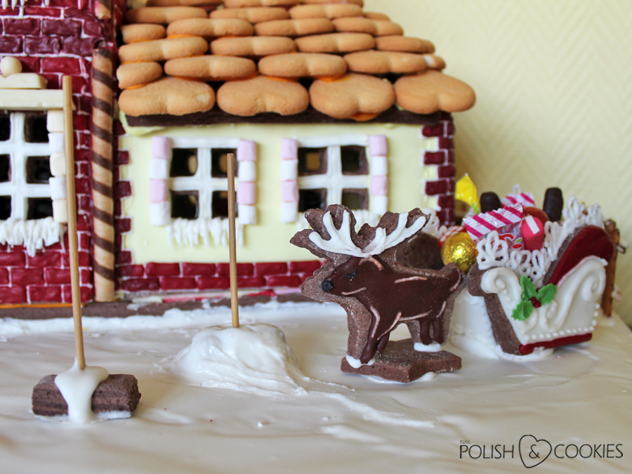ciasteczka latające renifery jak zamontować