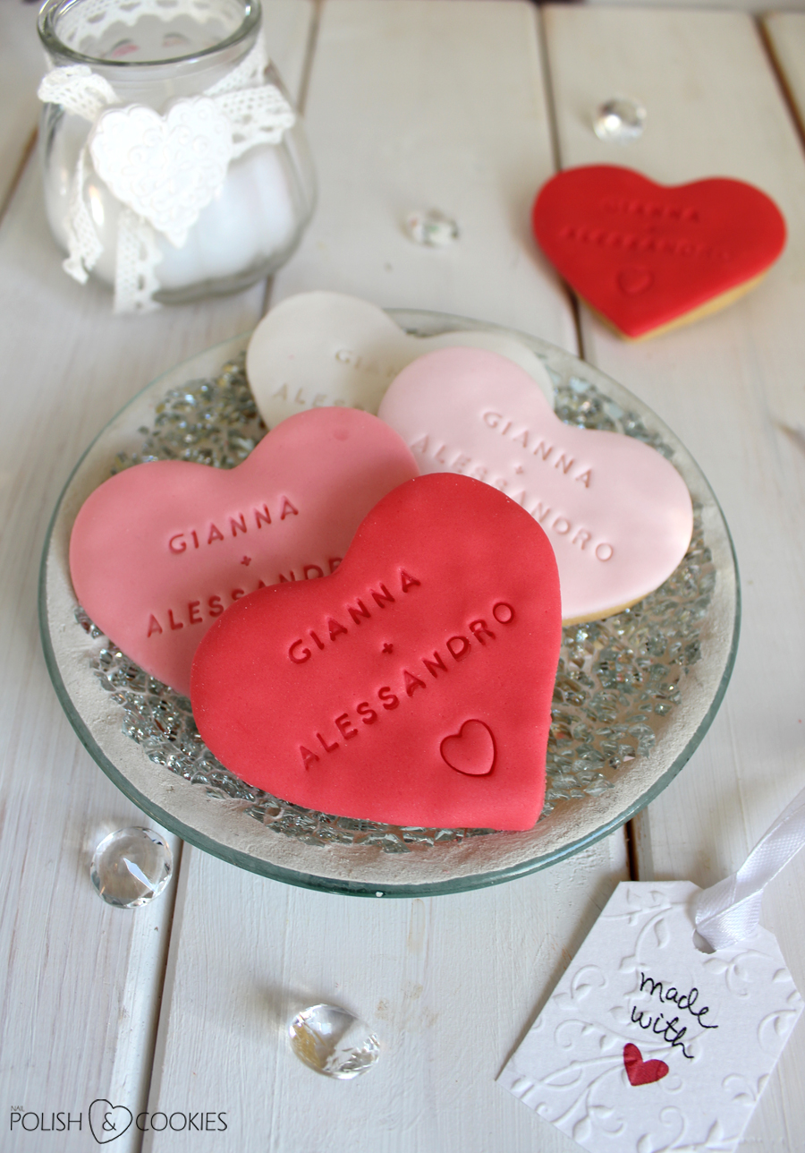proste ciasteczka weselne