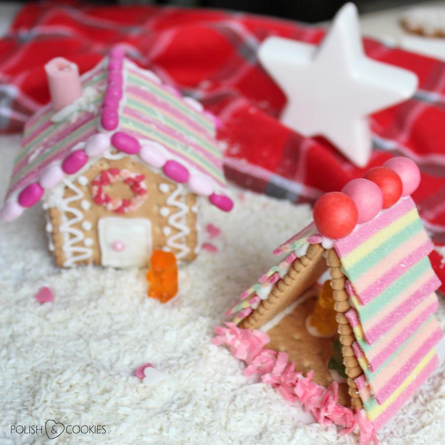domki z herbatników wioska dla dzieci bez pieczenia tutorial