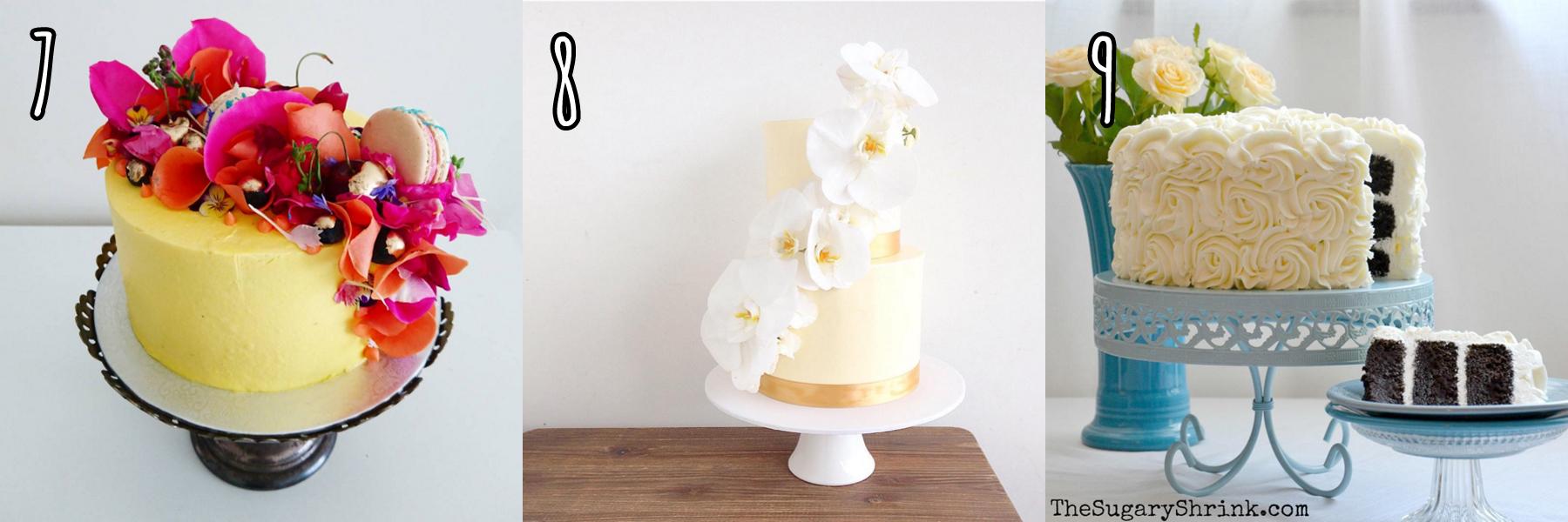 cukiereczki tort z żywymi kwiatami eleganckie torty