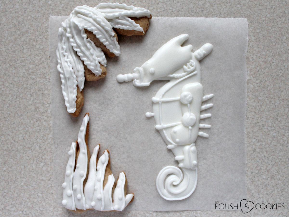 Ciasteczko konik morski tutorial 2