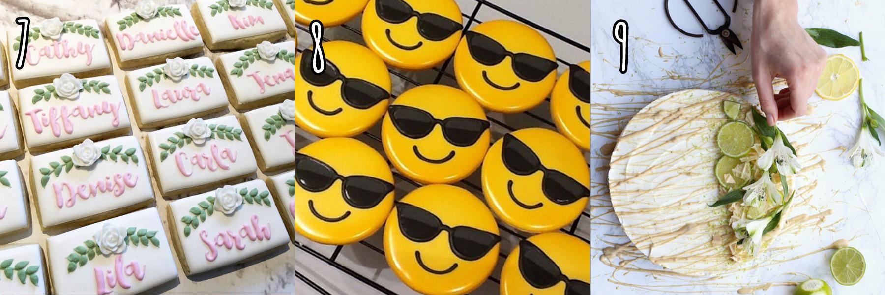 ciasteczka instagram