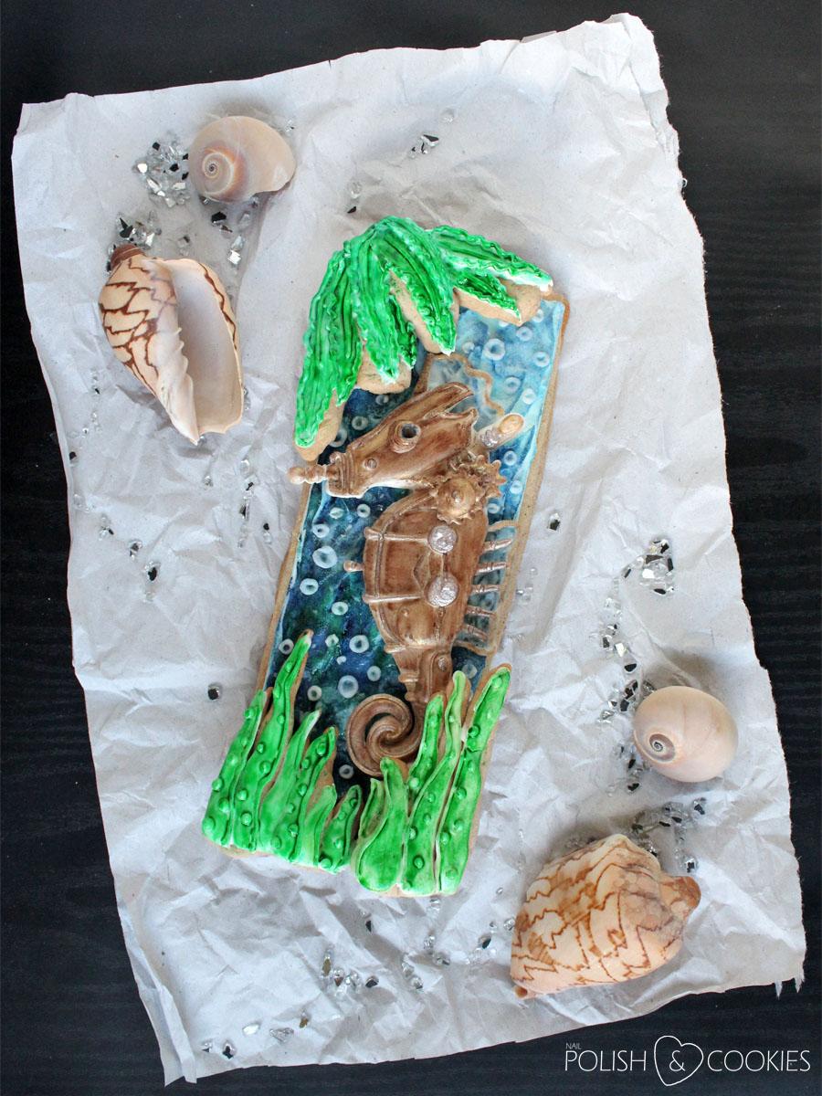 konik morski ciastko