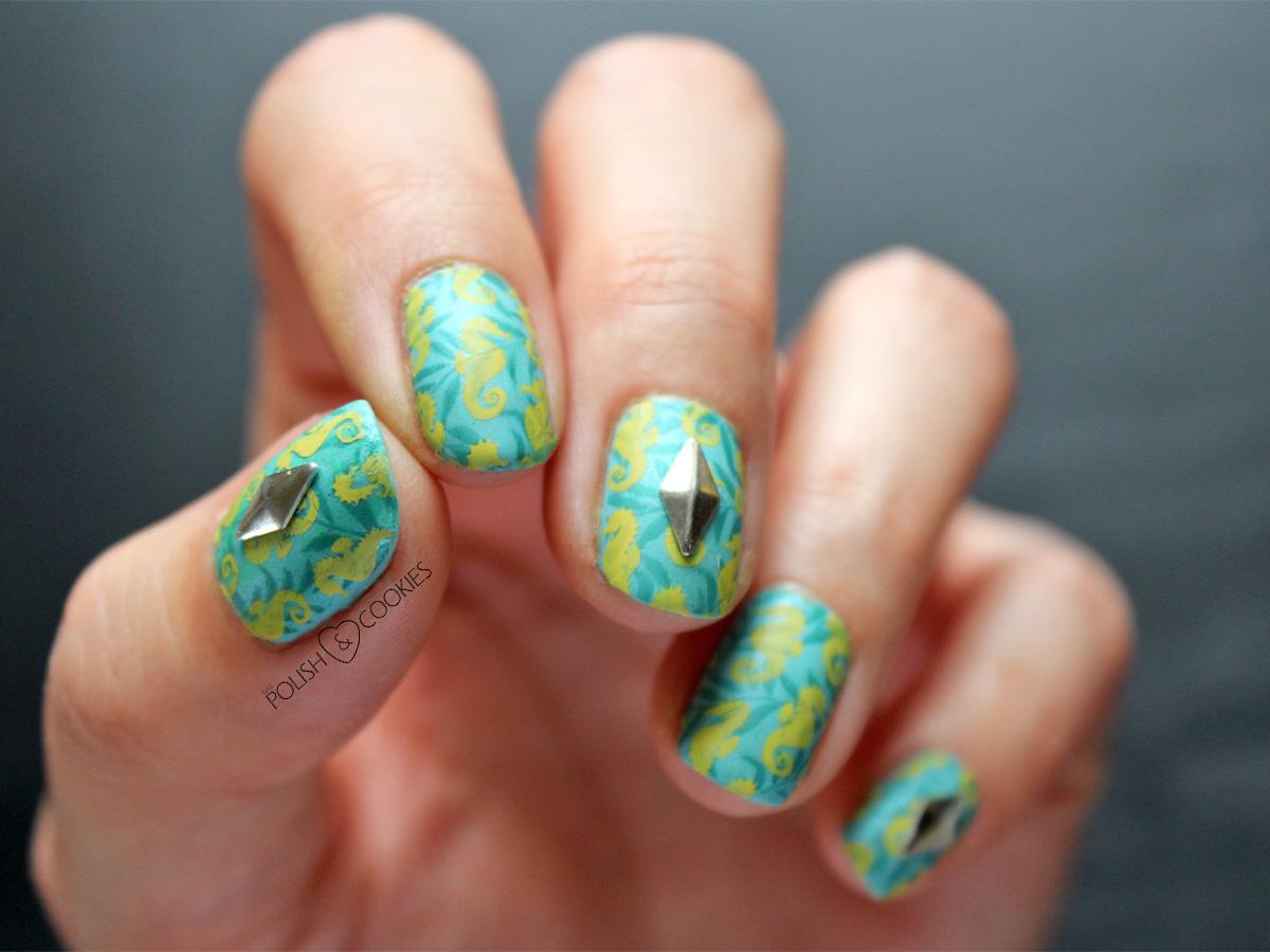 paznokcie stemple morskie