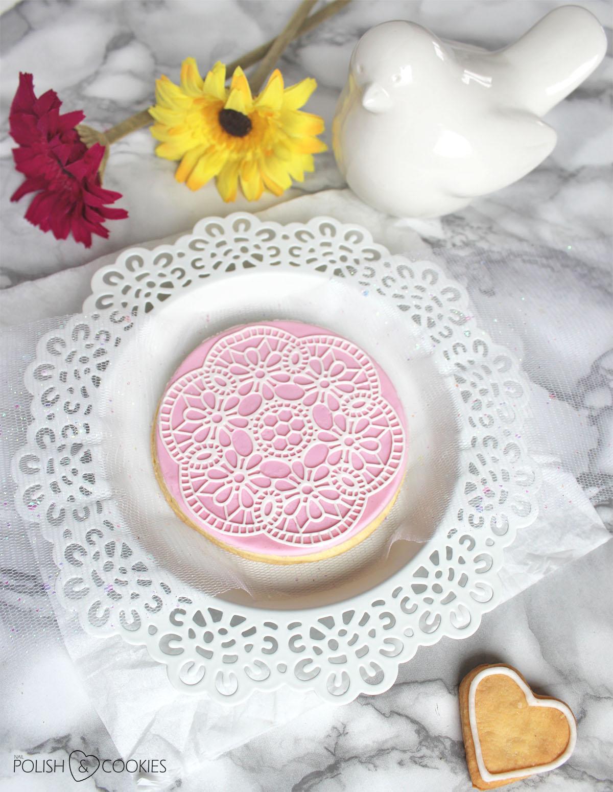 koronkowe ciasteczka