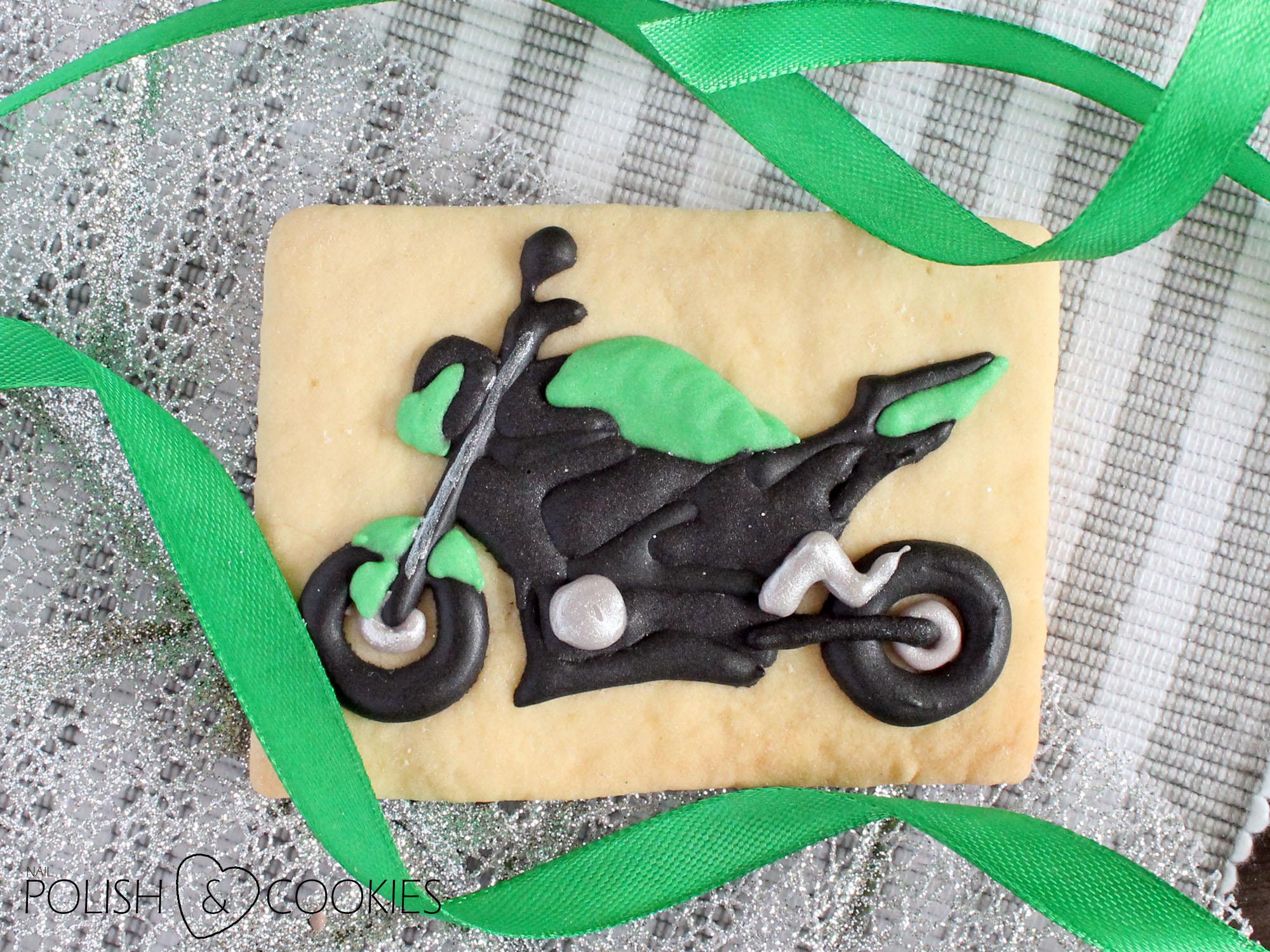 motocyklowe ciastka