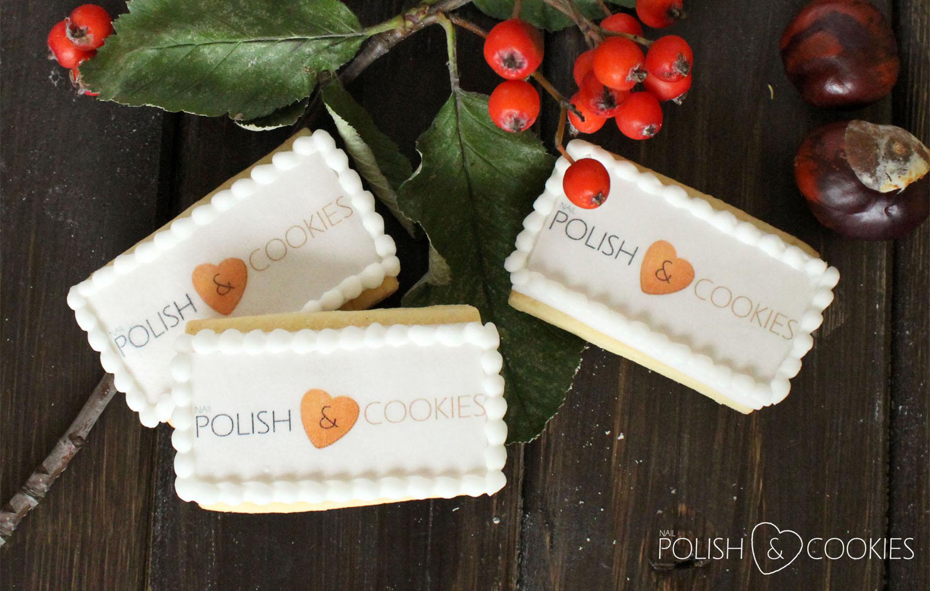 ciasteczka z logo