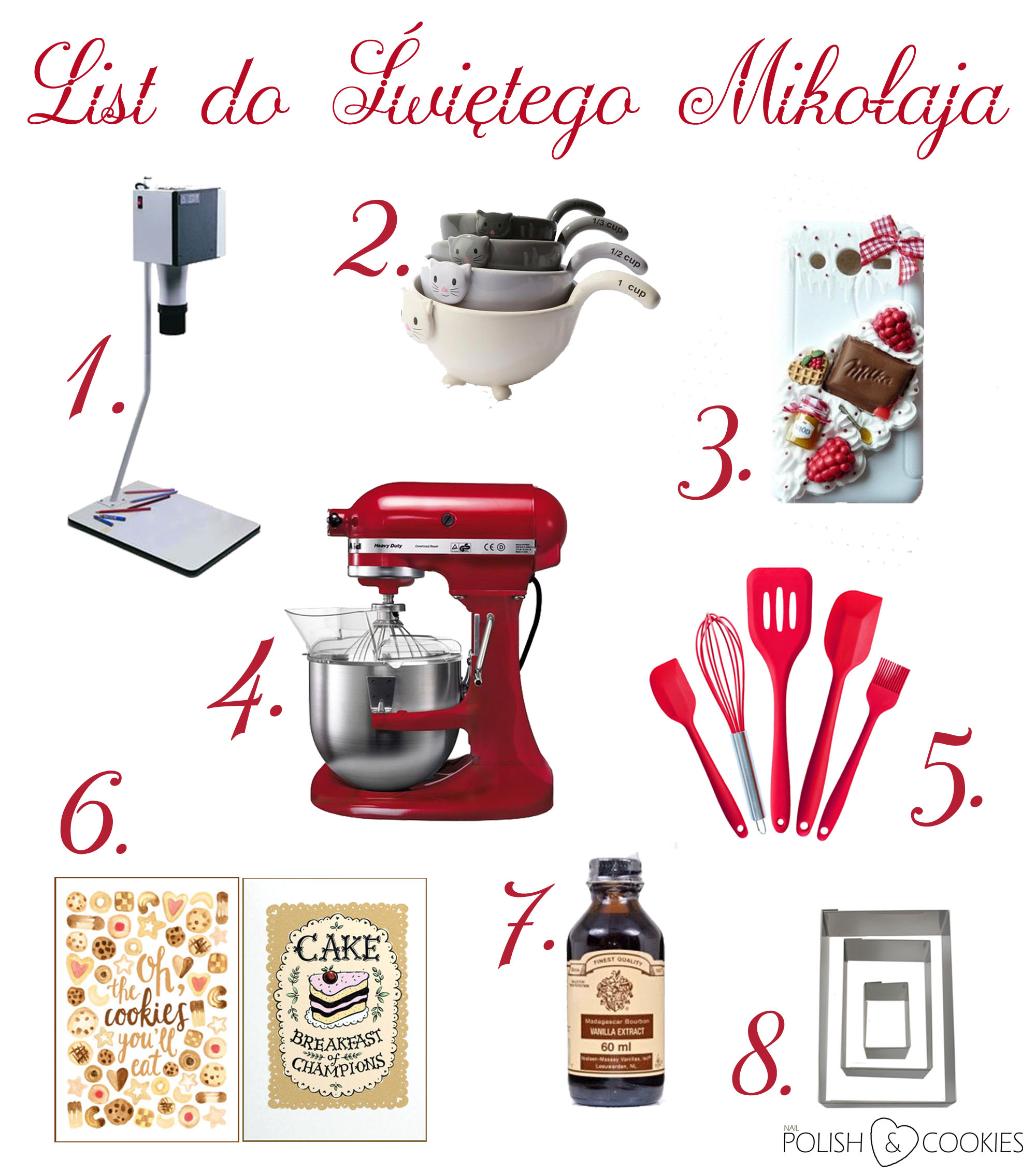 list do mikolaja