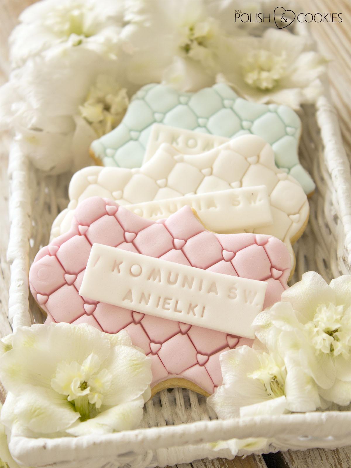 ciasteczka komunijne dla dziewczynki