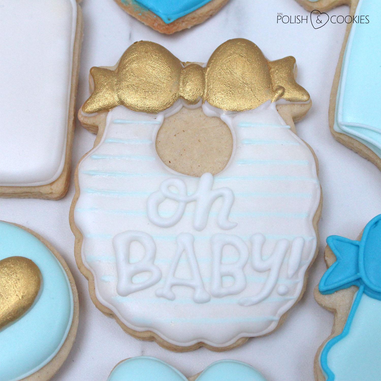 ciasteczka baby shower