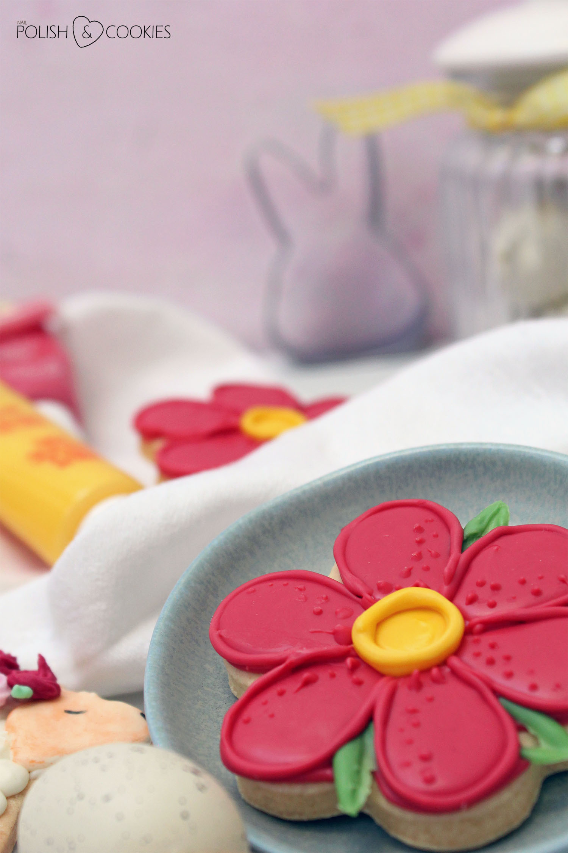 ciasteczka kwiaty proste