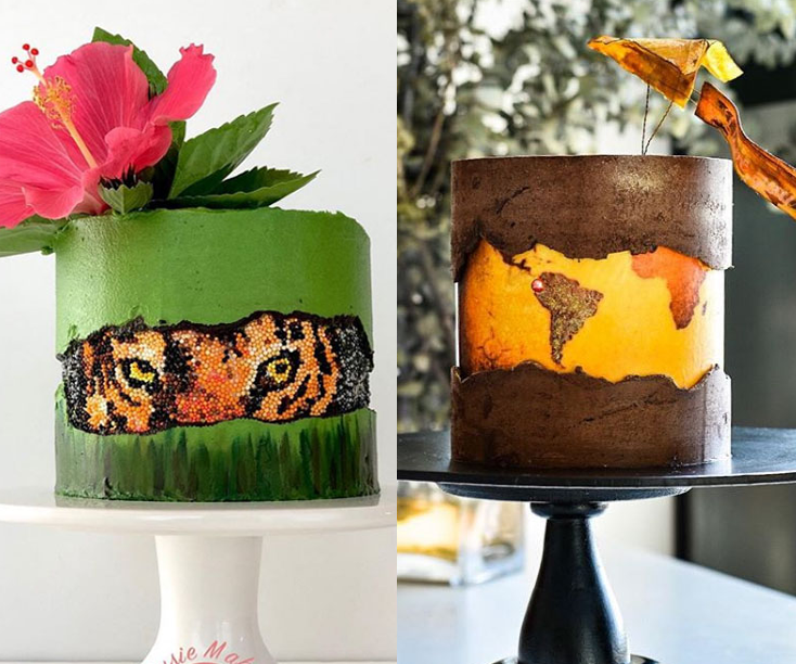 fault line cake tropikalne