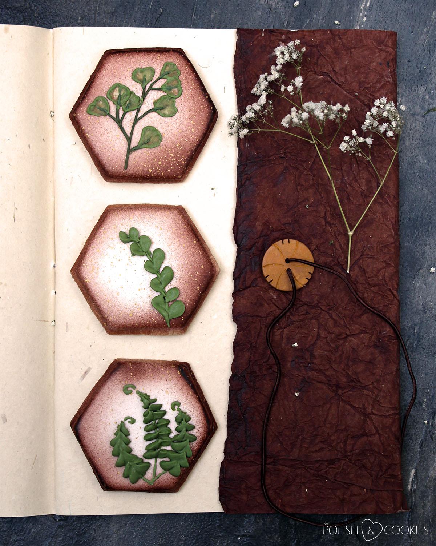 ciasteczka suszone rosliny