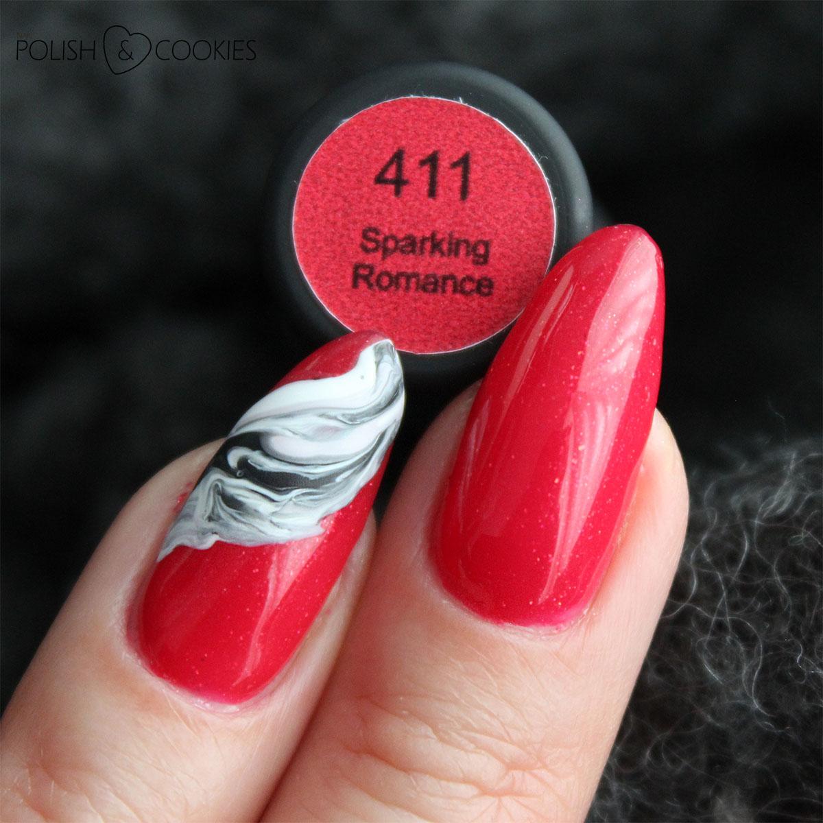 maga 411 sparking romance swatch