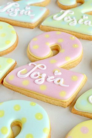 ciasteczka drugie urodzinki
