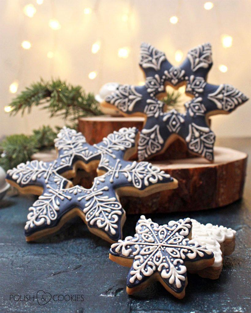 pierniczki sniezynki