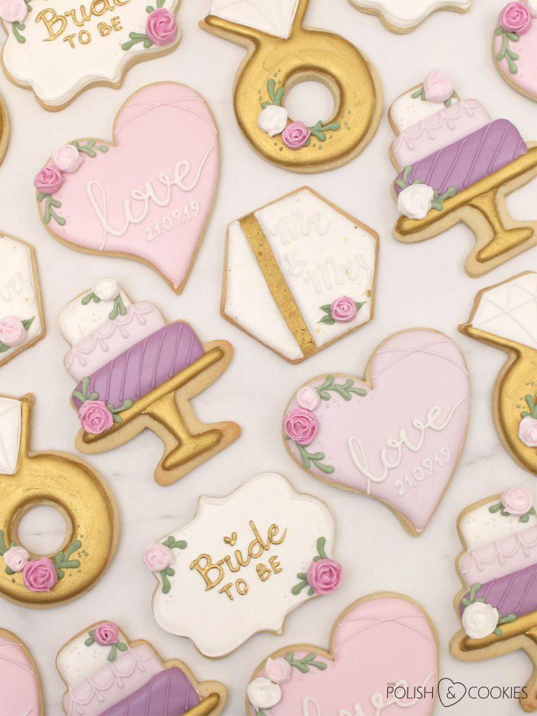 zestaw ciasteczek na panienski