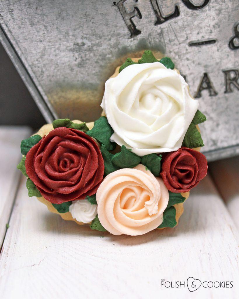 ciasteczka róże