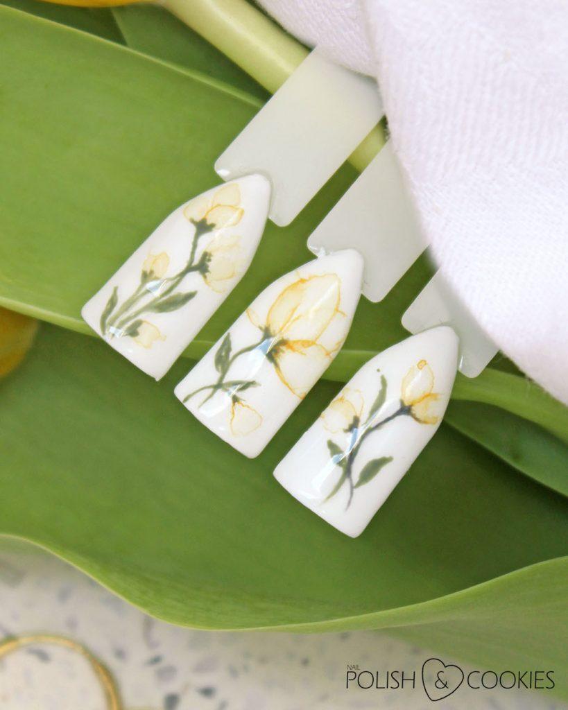 kwiaty akwarelowe hybrydy