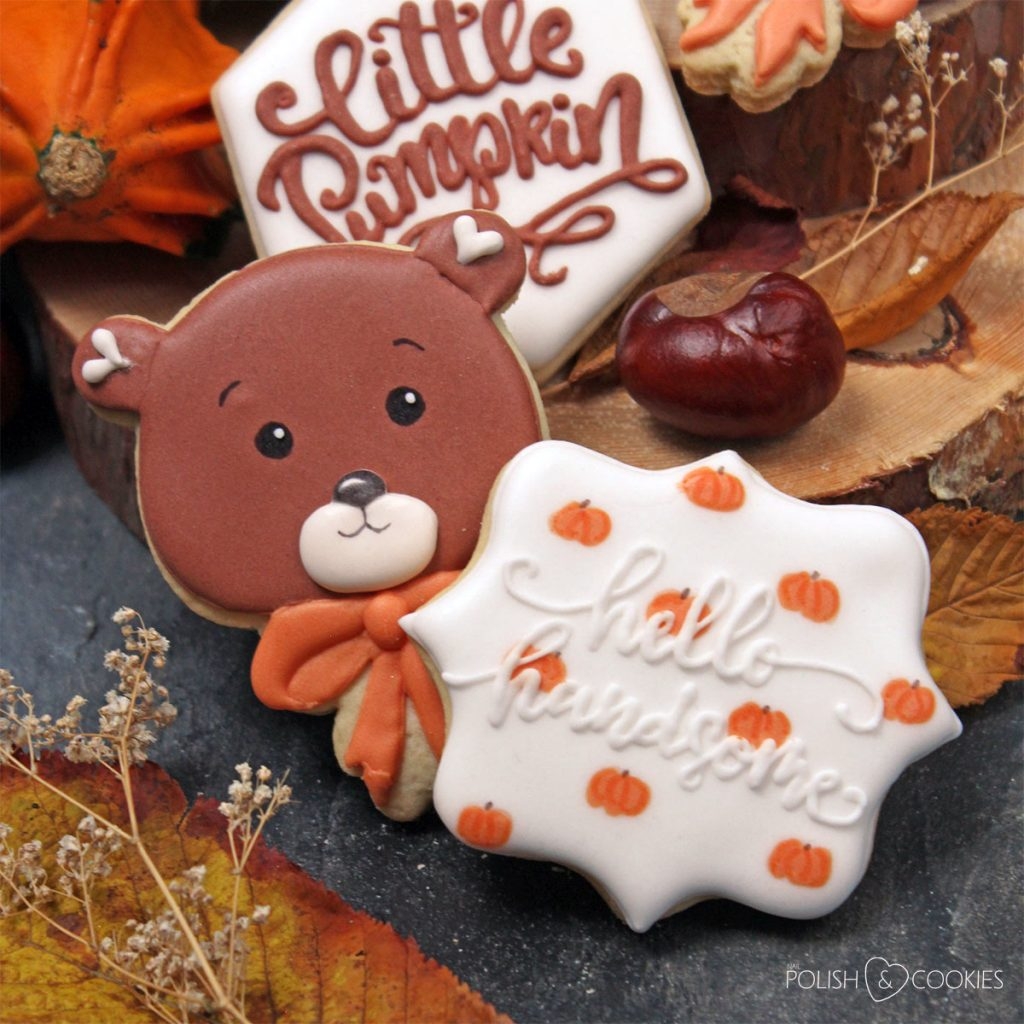 jesienny baby shower chlopca