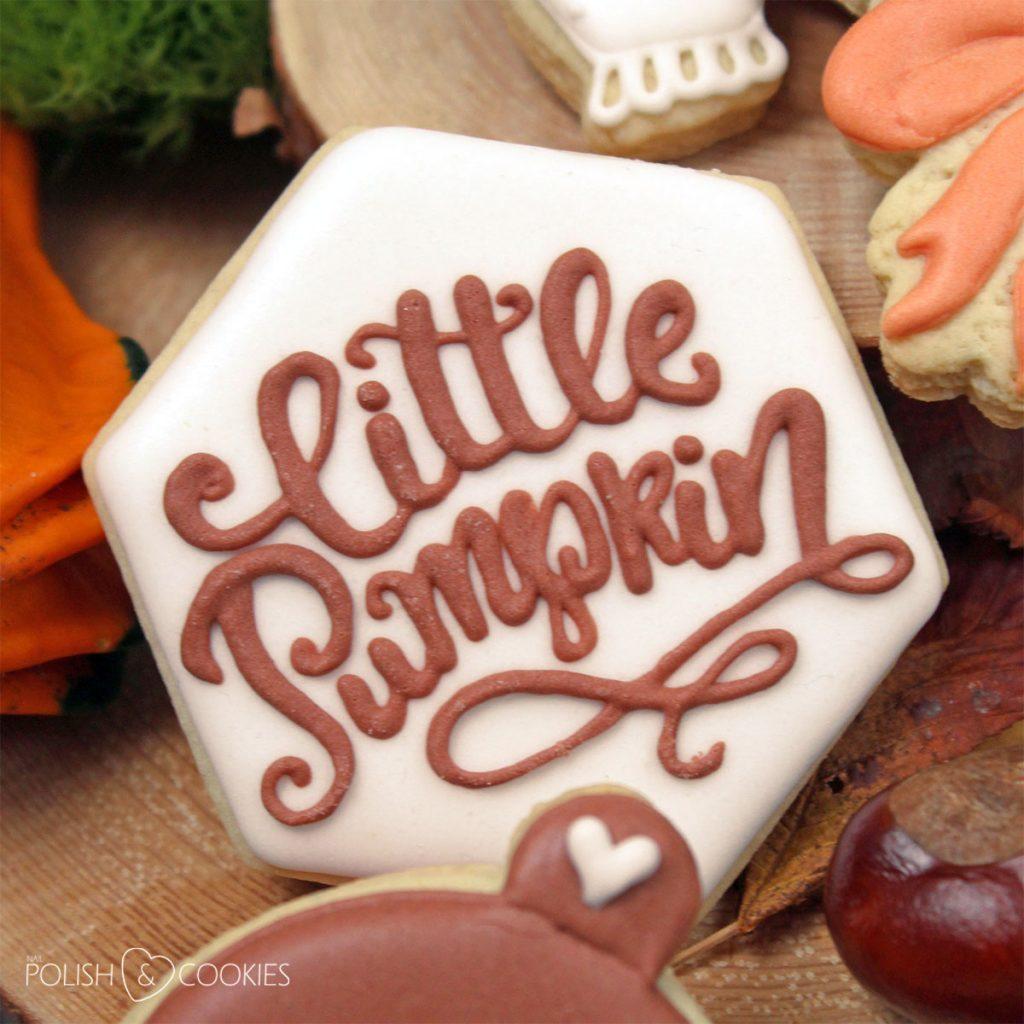 little pumpkin cookie